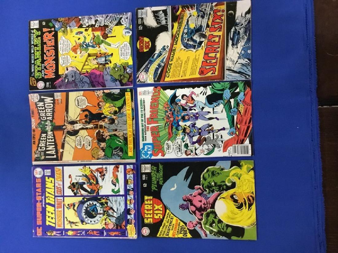 Lot of 6 DC Comics Green Lantern, Green Arrow, Teen