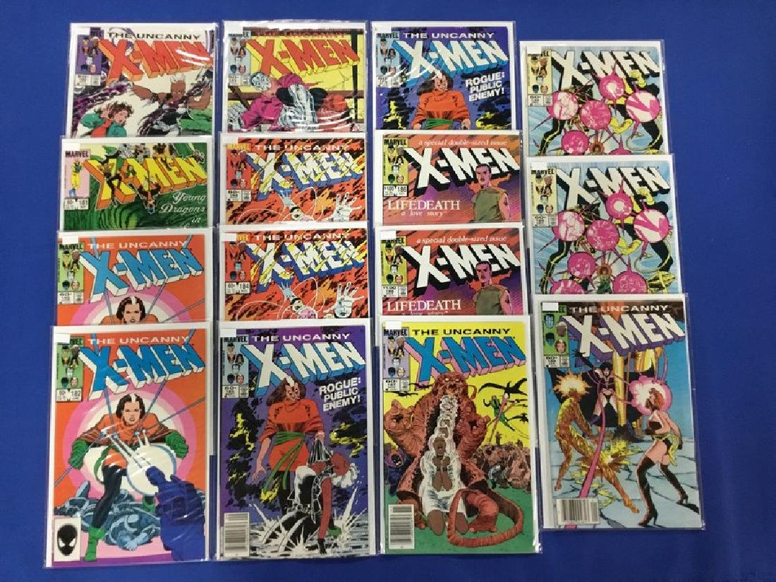 Lot of 15 Uncanny X-Men  Various 180-189