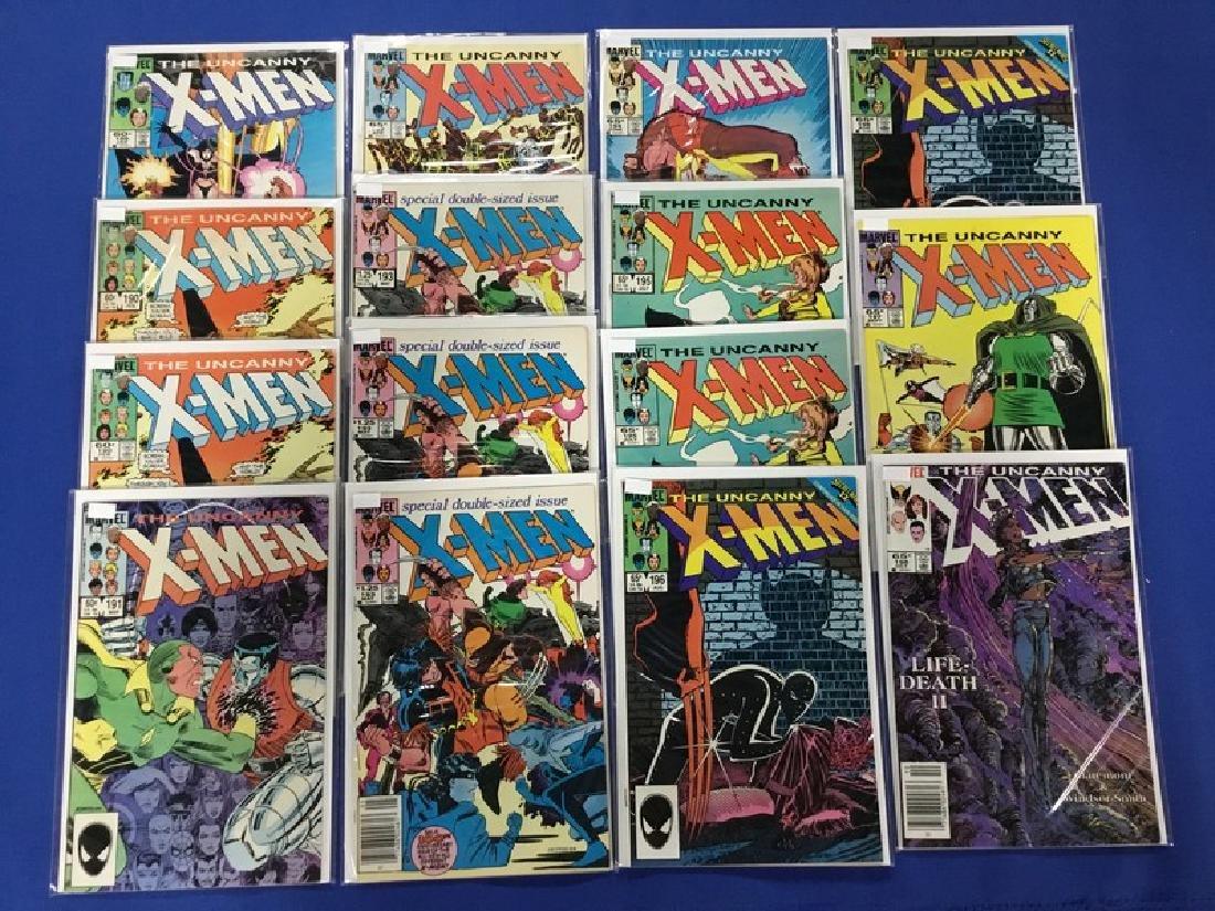 Lot of 15 Uncanny X-Men Various 189-198
