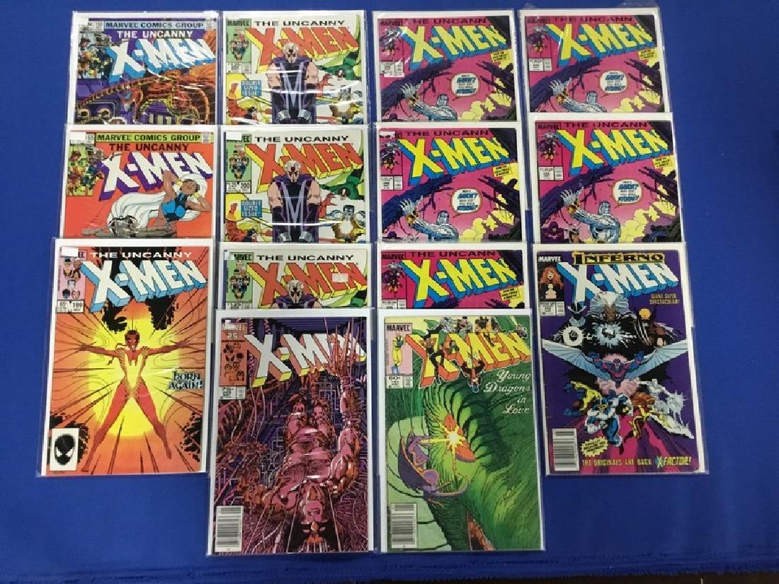 Lot of 14 Uncanny X-Men  Various 160-248, some