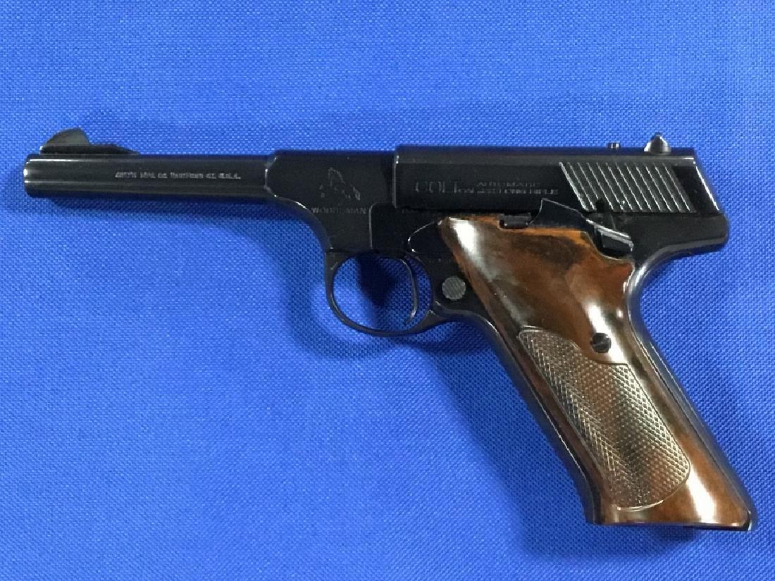 Colt .22 Caliber Sport Model Woodsman 4.5†Barrel - 3