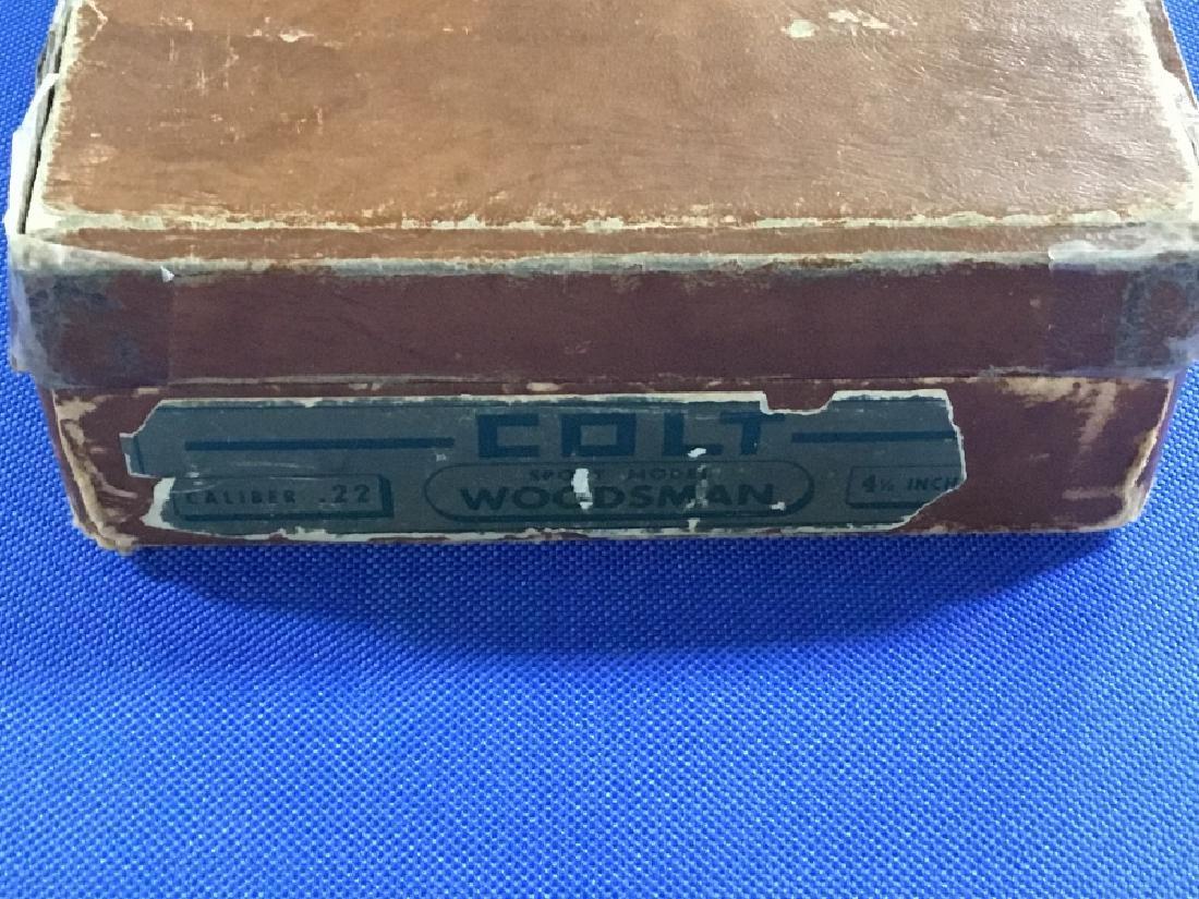 Colt .22 Caliber Sport Model Woodsman 4.5†Barrel - 6