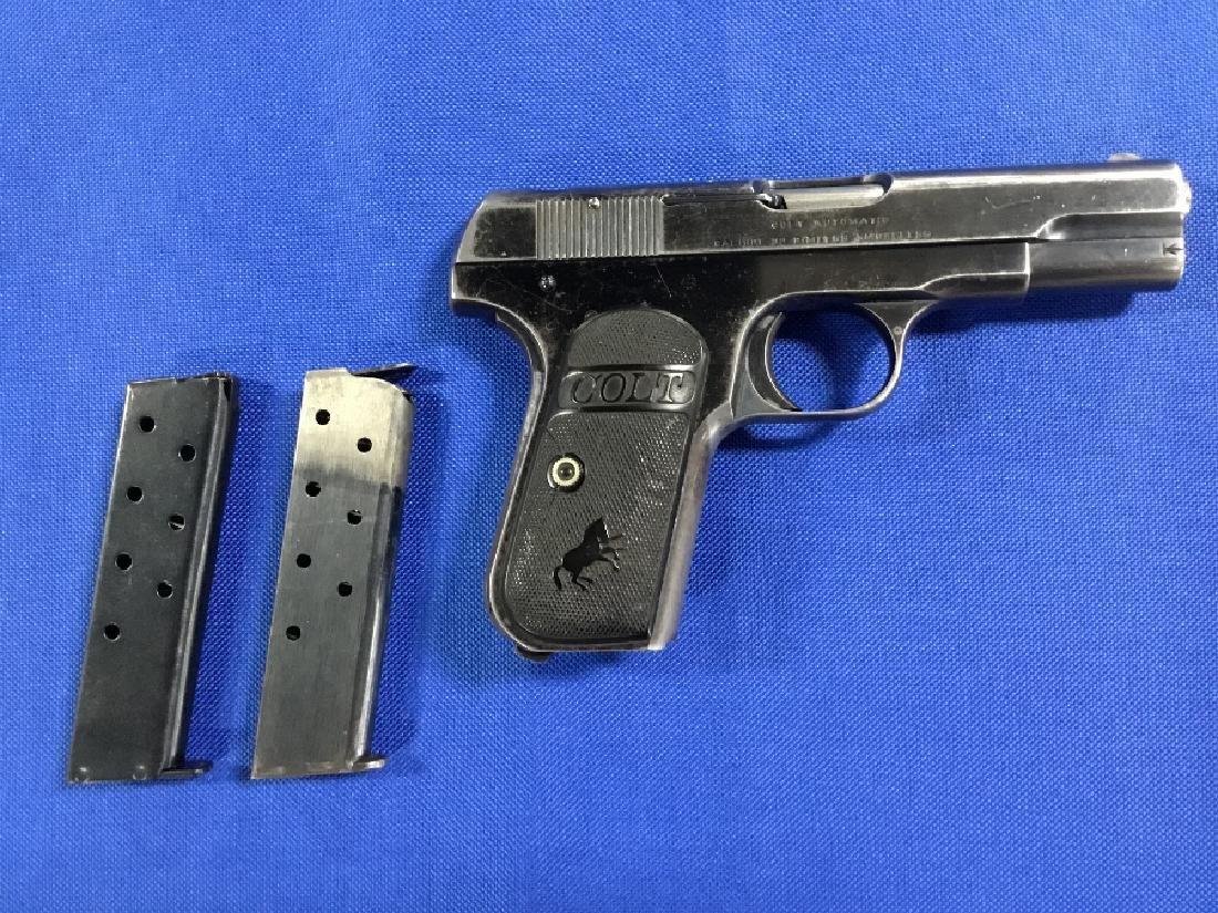 Colt .32 Rimless Smokeless Pistol 1909
