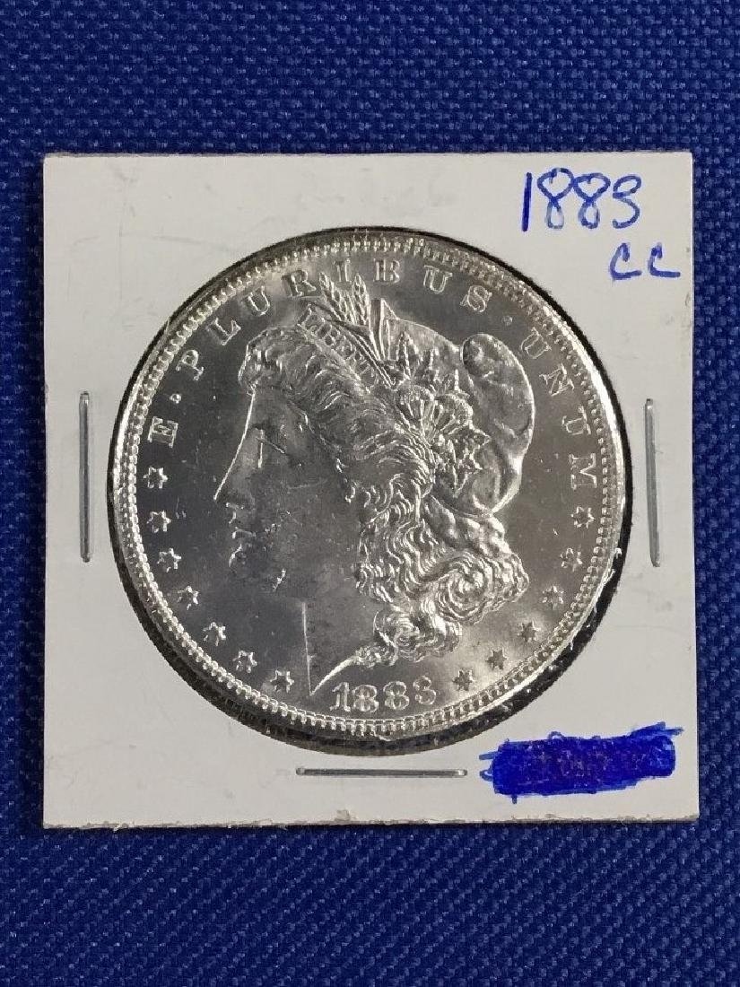 1883 CC Morgan Dollar