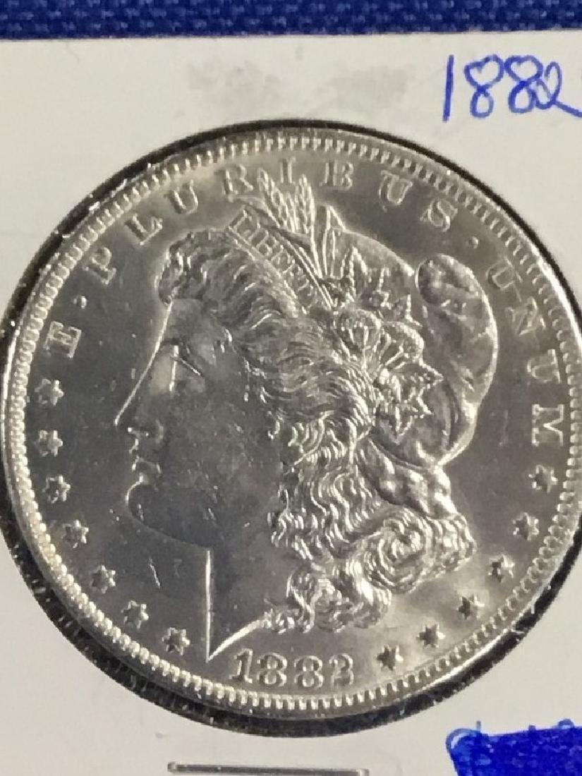 1882 CC Morgan Dollar - 2