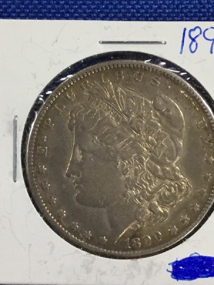 1890 CC Morgan Dollar - 2