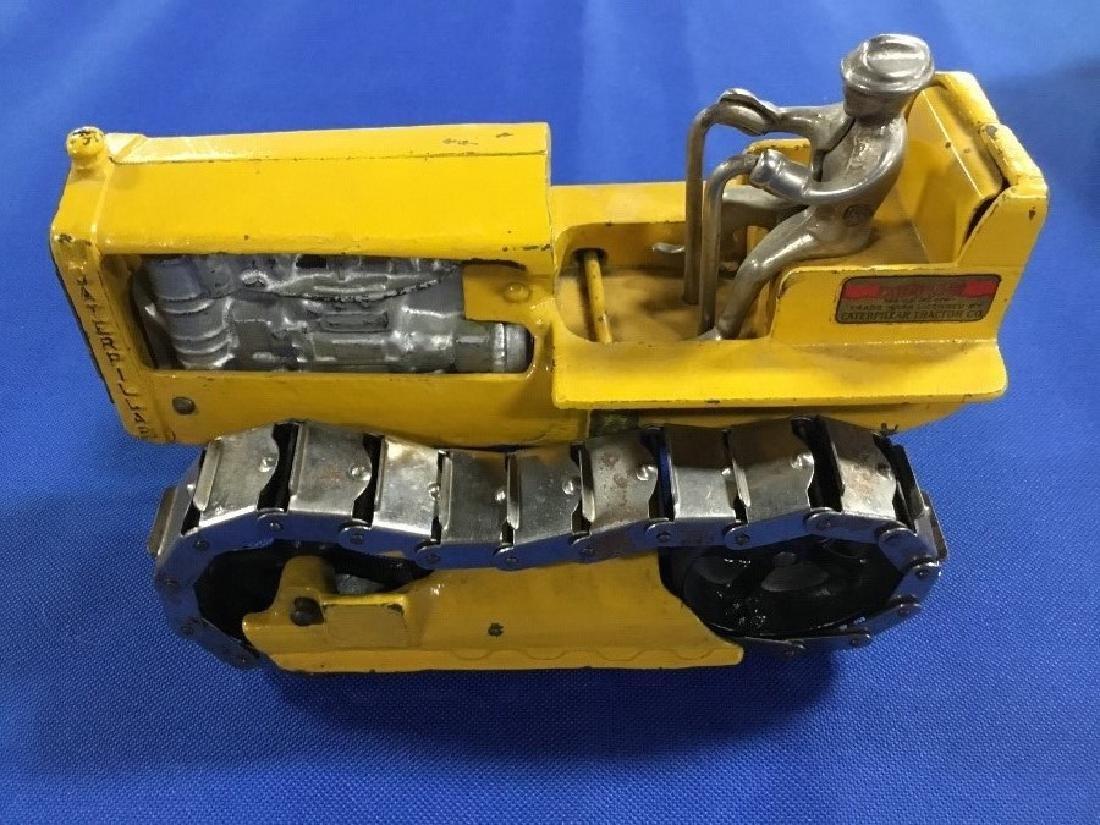 Arcade Cast Iron Caterpillar 270 Y with Original Box - 4