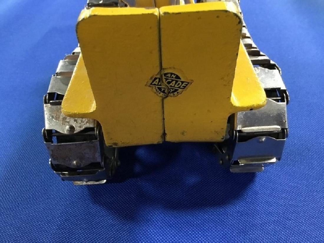 Arcade Cast Iron Caterpillar 270 Y with Original Box - 6