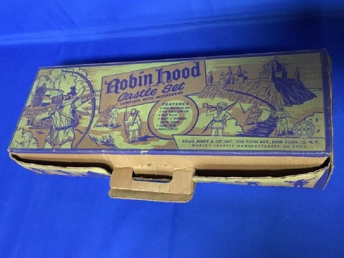 1950s Robin Hood Castle Play Set number 4720 by Louis