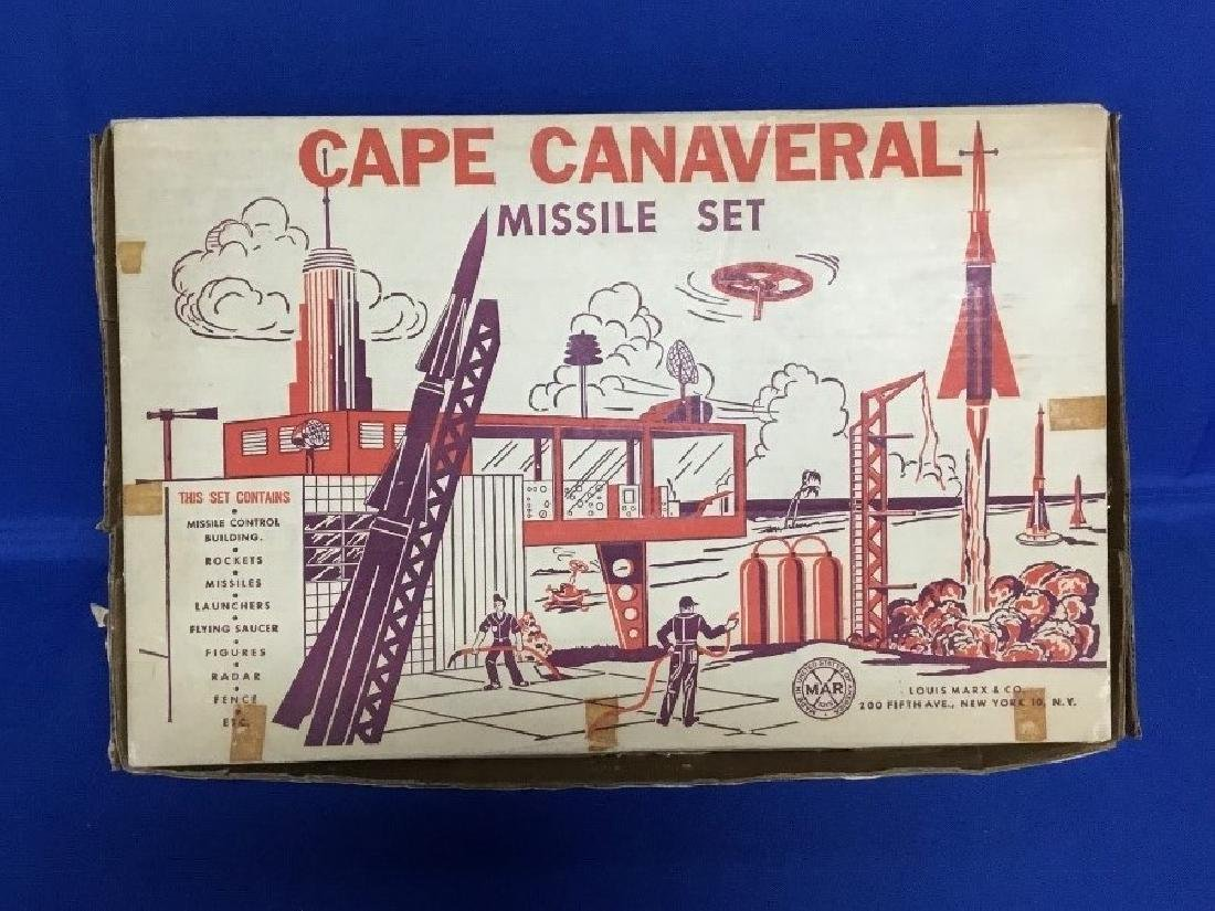 Cape Canaveral Missile Set by Louis Marx and Co. Series