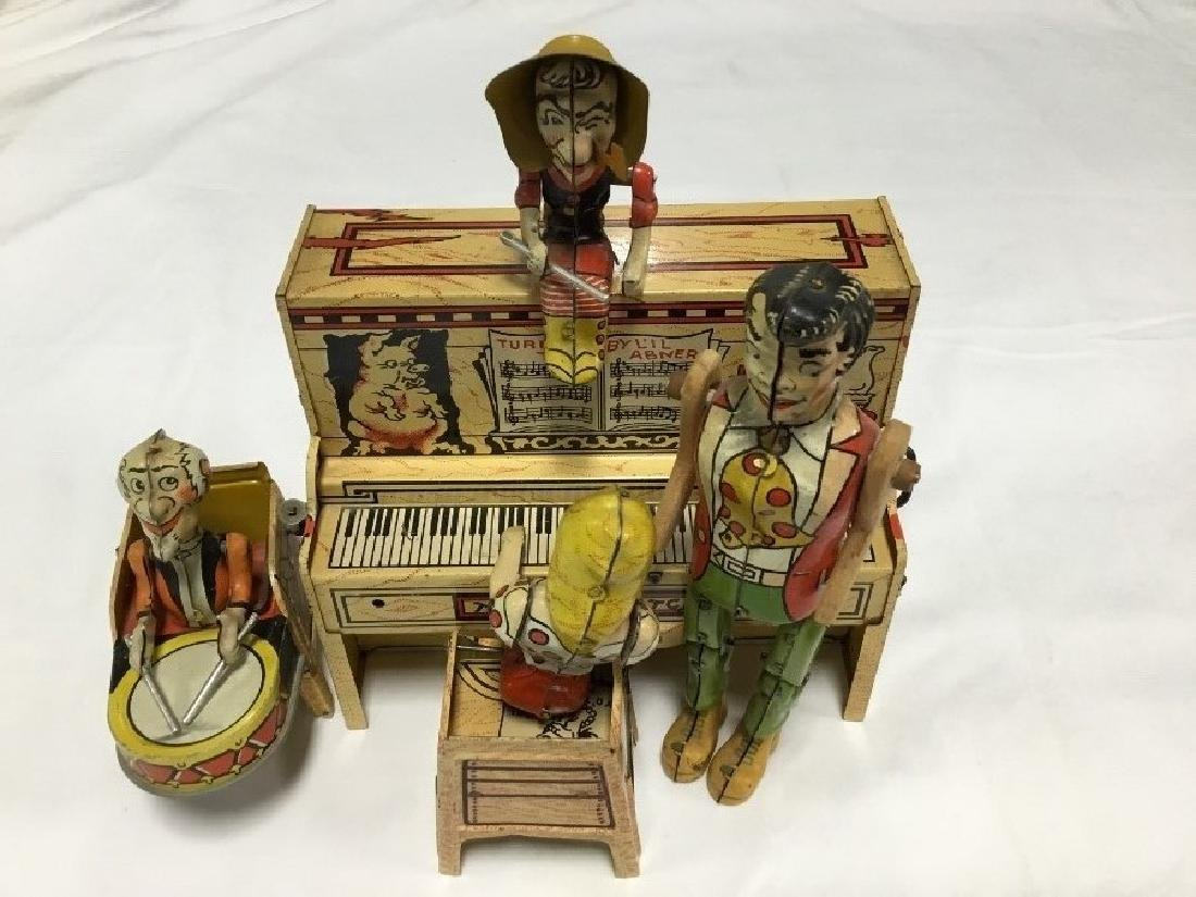 Lil Abner and Dogpatch Band Tin Toy by Unique