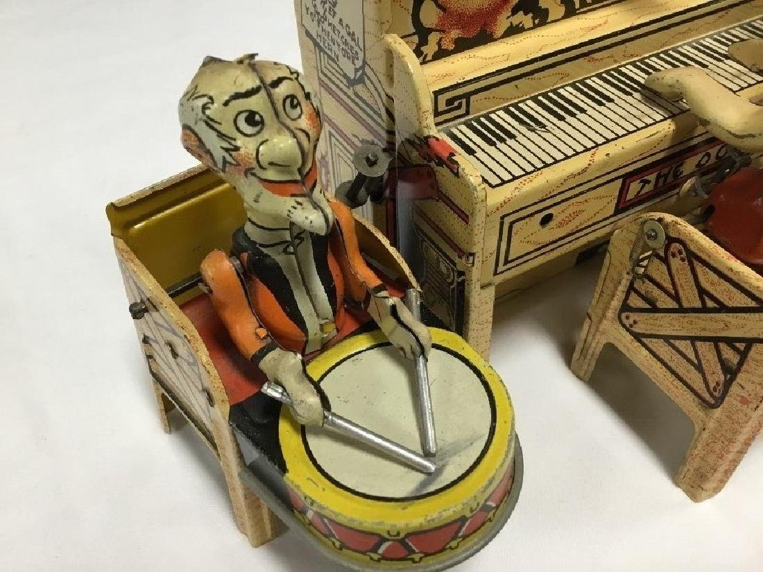 Lil Abner and Dogpatch Band Tin Toy by Unique - 3