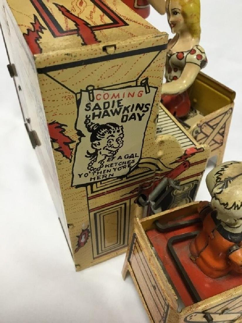 Lil Abner and Dogpatch Band Tin Toy by Unique - 5