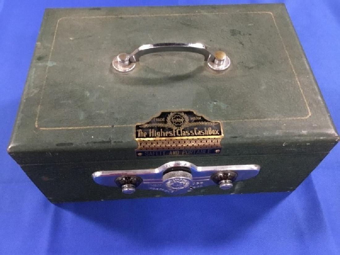 Vintage Yamaha Portable Cash Box The Highest Class