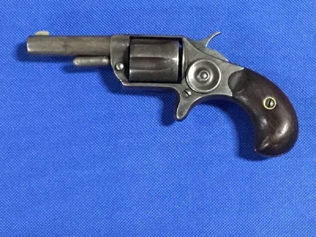 1875 Colt Newline Spur Trigger Rim Fire Revolver .32 - 3