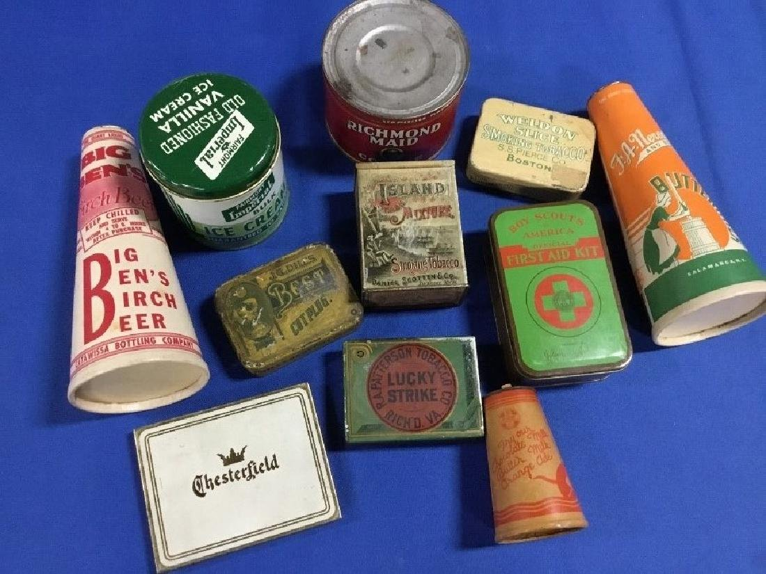 Lot of 11 Pieces of Miscellaneous Advertising, Coffee,