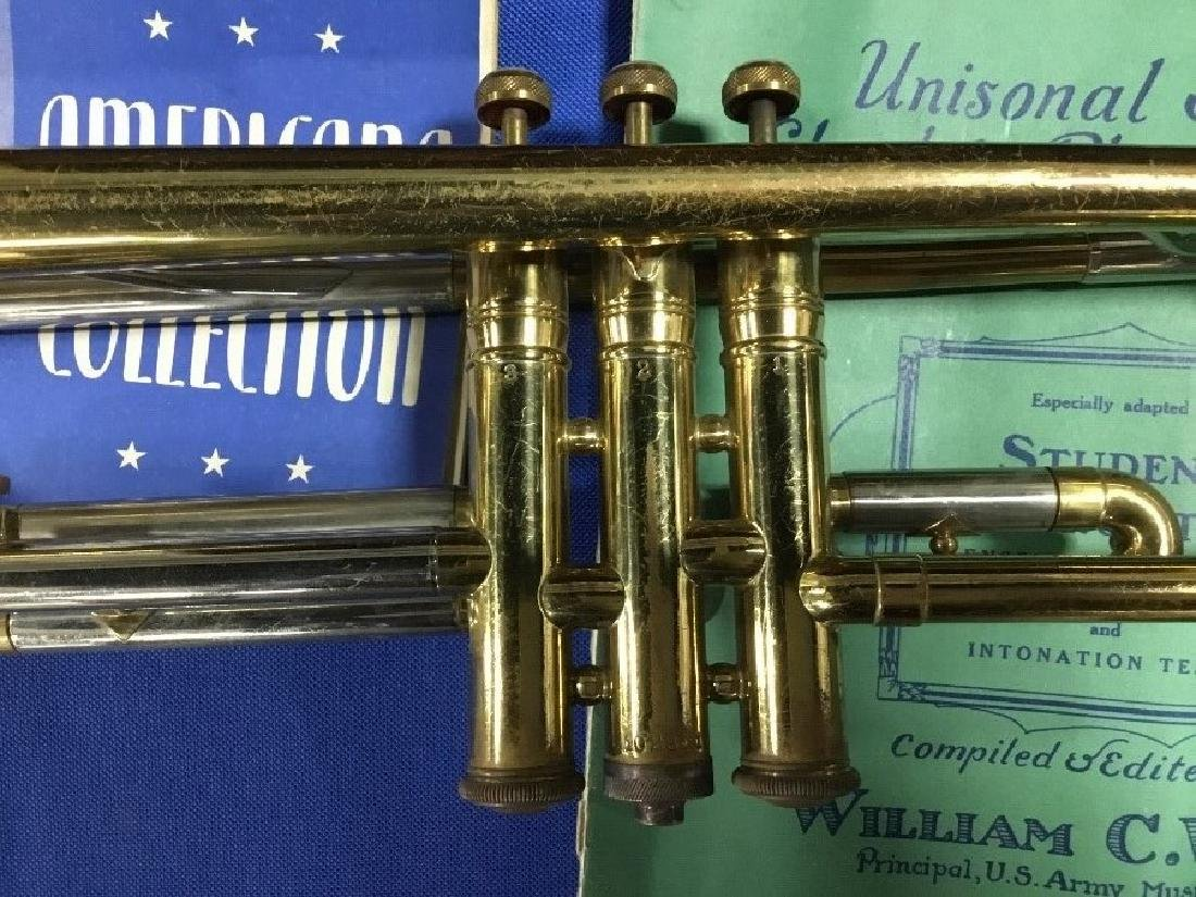Trumpet Made by Harry Pedler and Sons with Original - 3