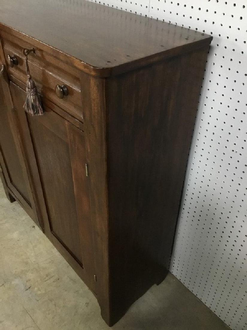 Solid Walnut Jelly Cupboard - 2