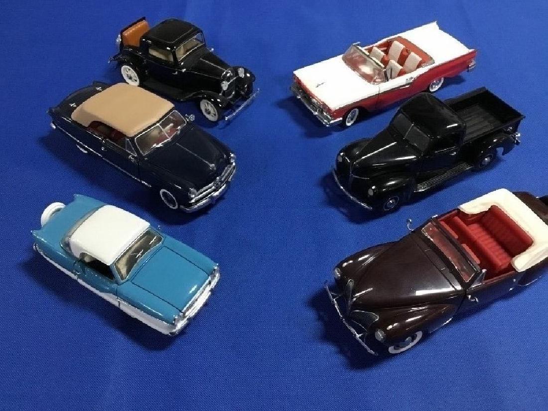 Lot of 6 Danbury Mint Classic and Precision Model Cars