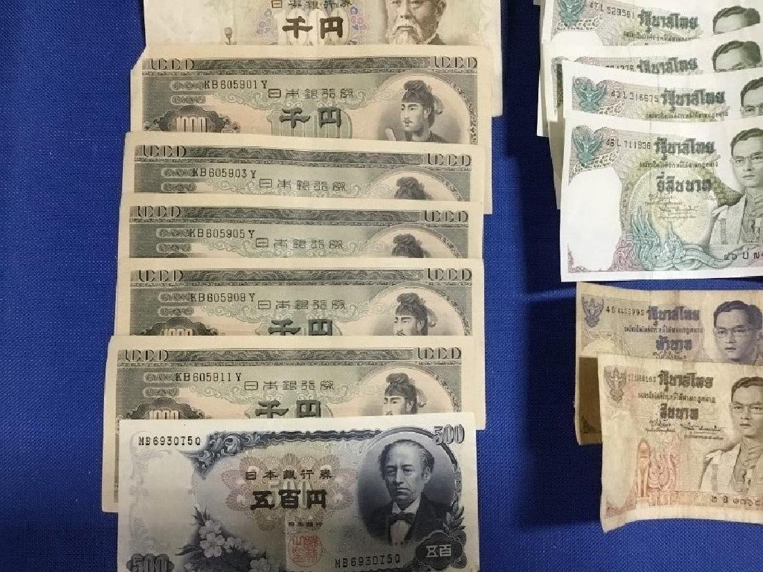 Lot of Foreign Currency and Coins - 3