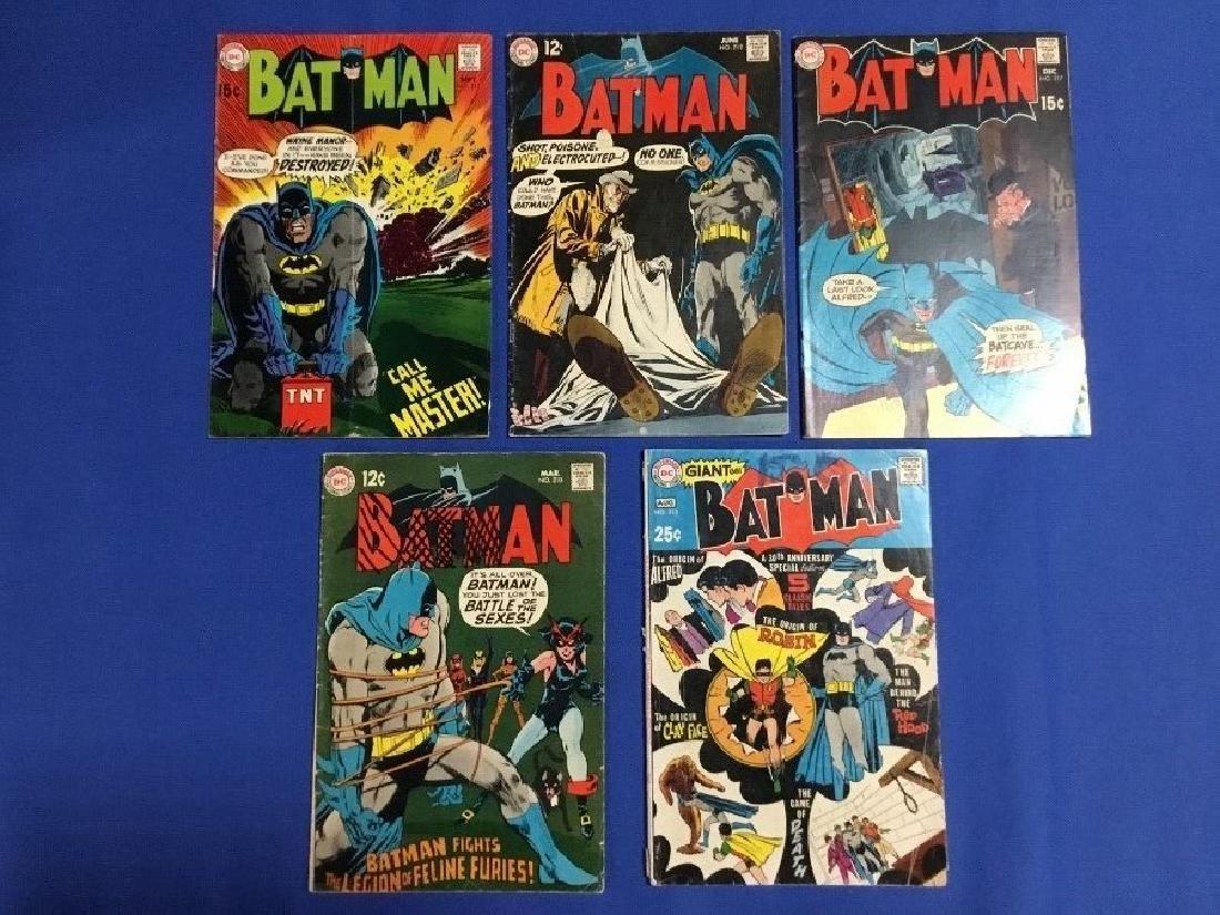 Batman Issues #210,212,213,215,217