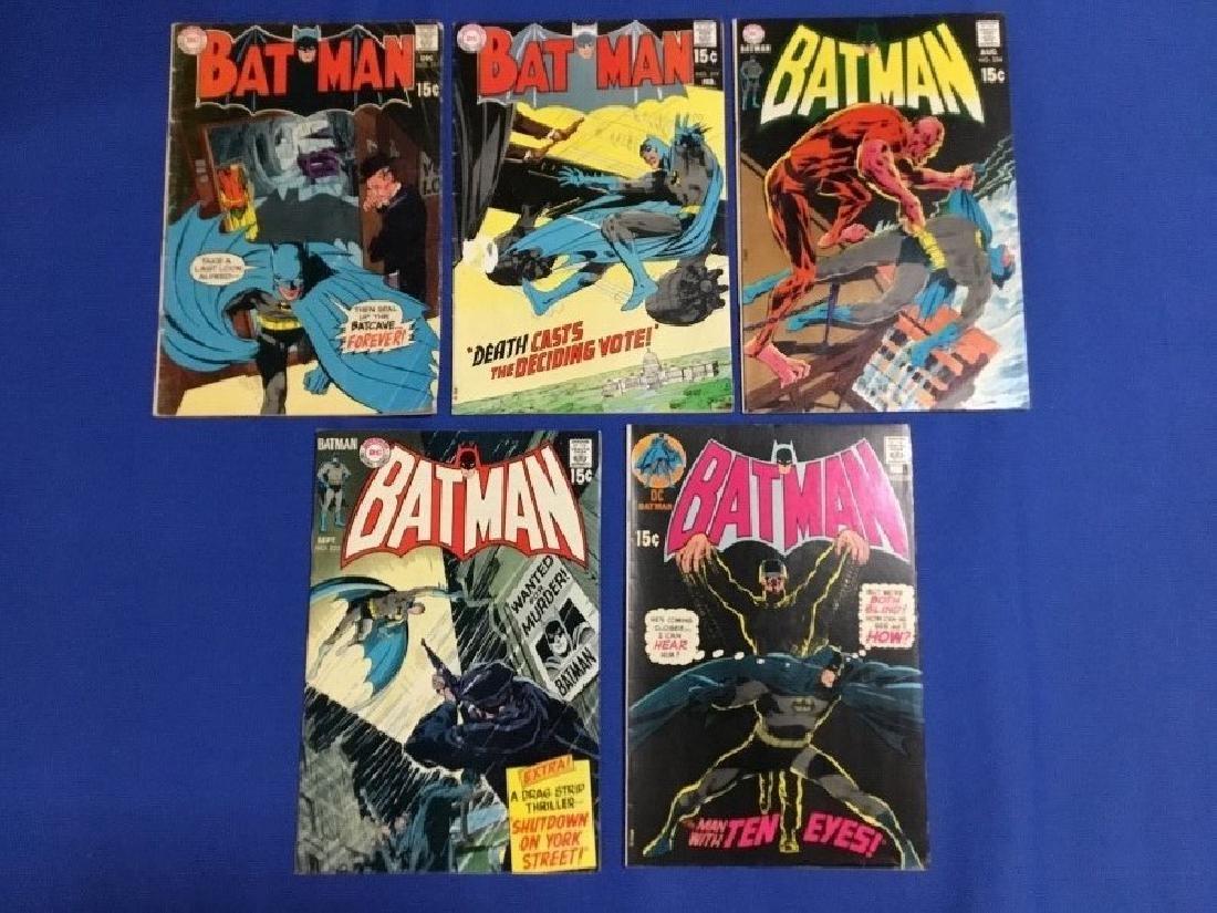 Batman Issues #217,219,224,225,226