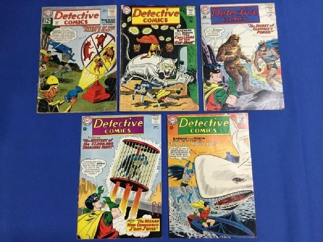 Detective Comics Issues #305, 311-314
