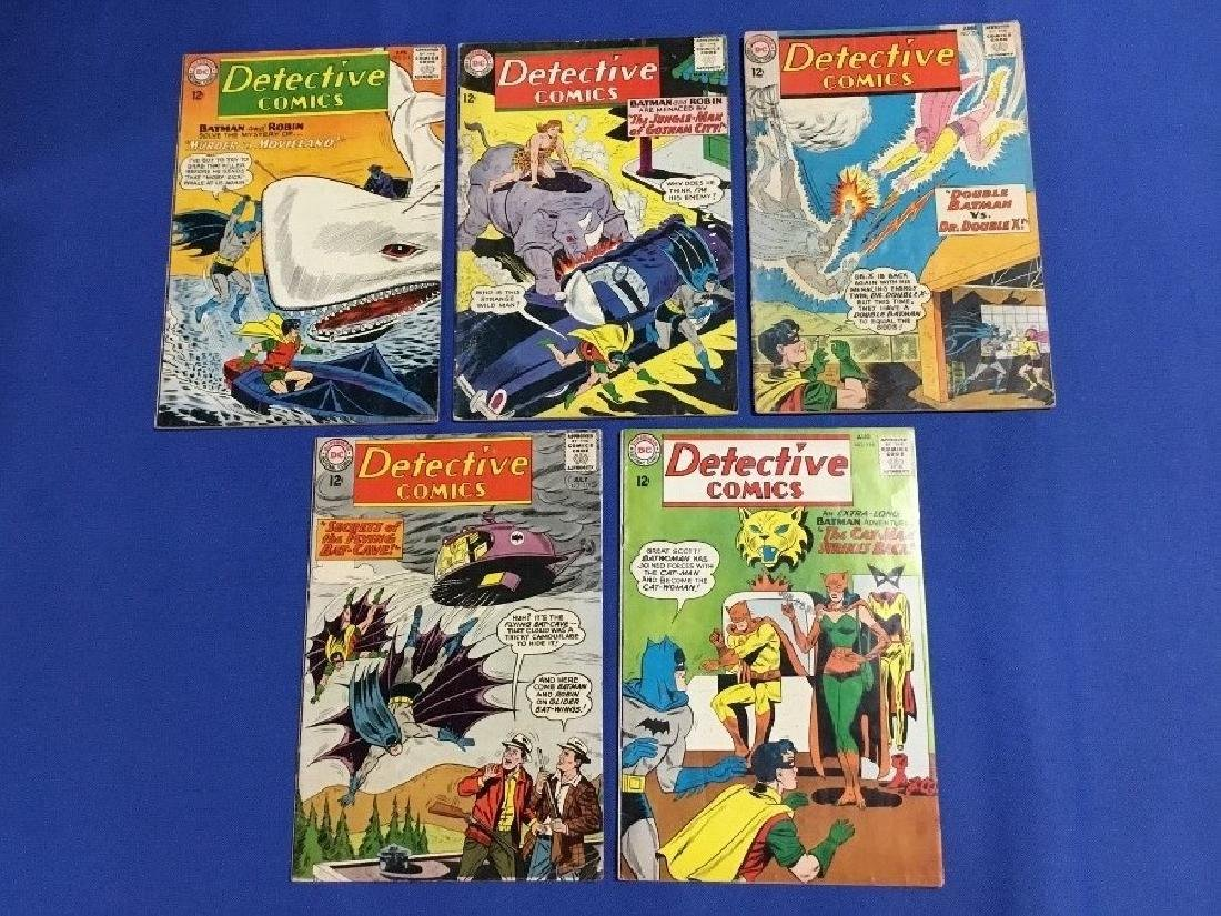 Detective Comics Issues #314-318