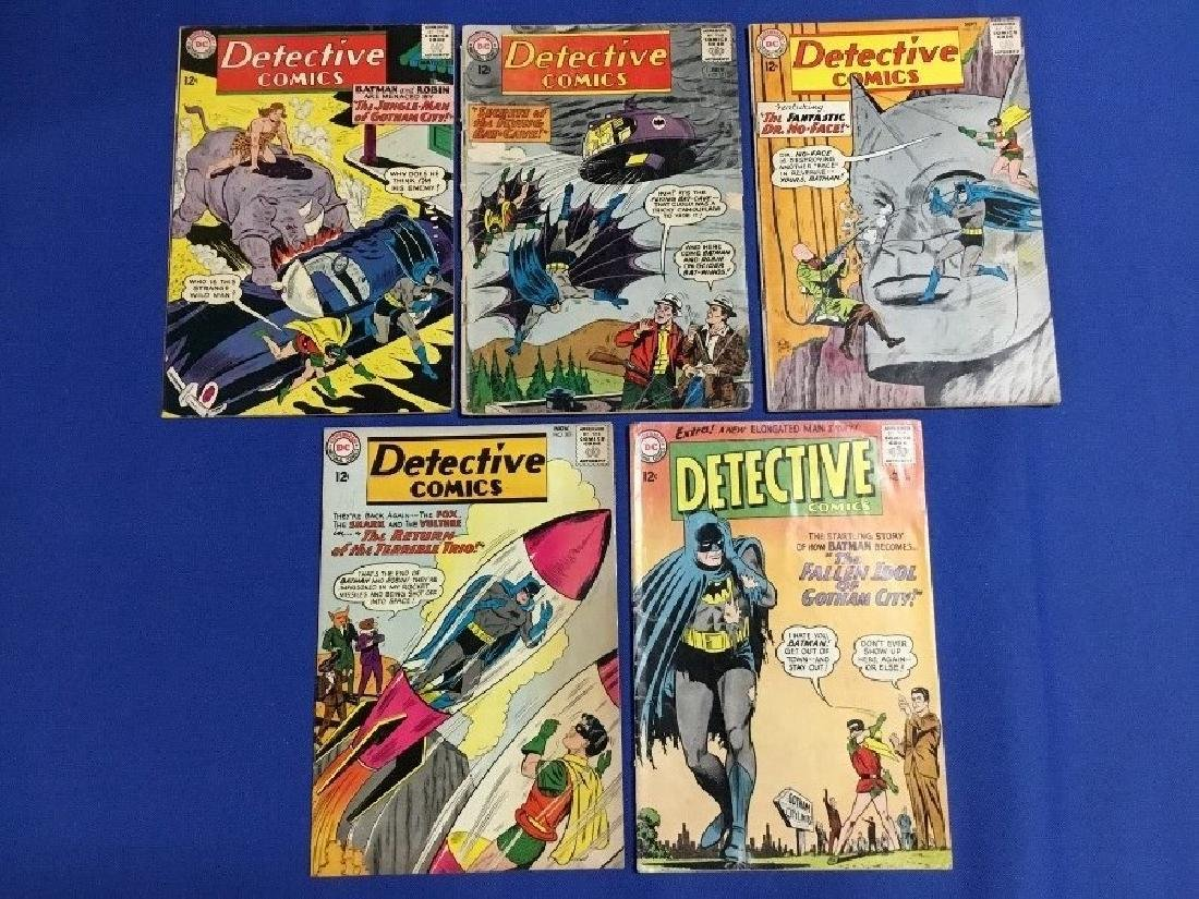 Detective Comics Issues #315,317,319,321,330
