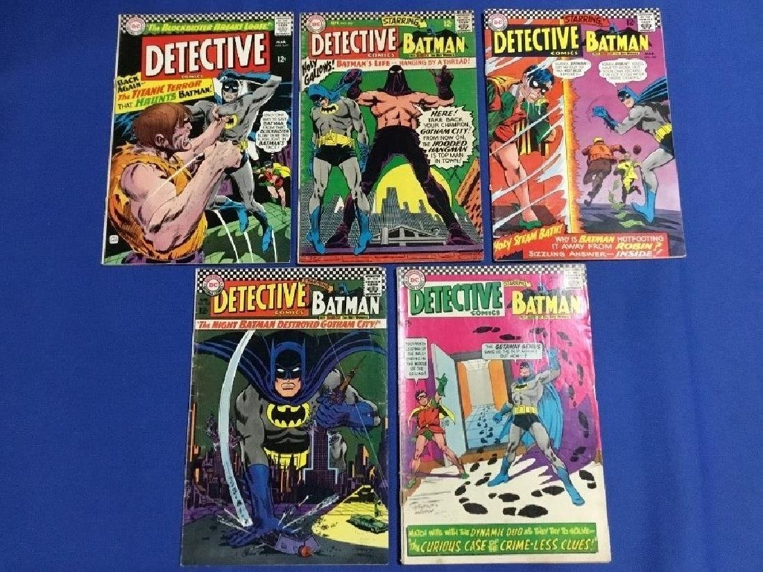 Detective Comics Issues #349,355,361,362,364