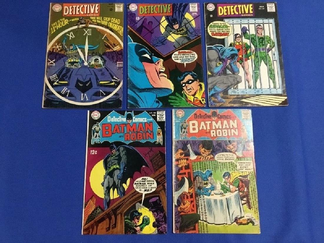 Detective Comics Issues #375-377,382,383