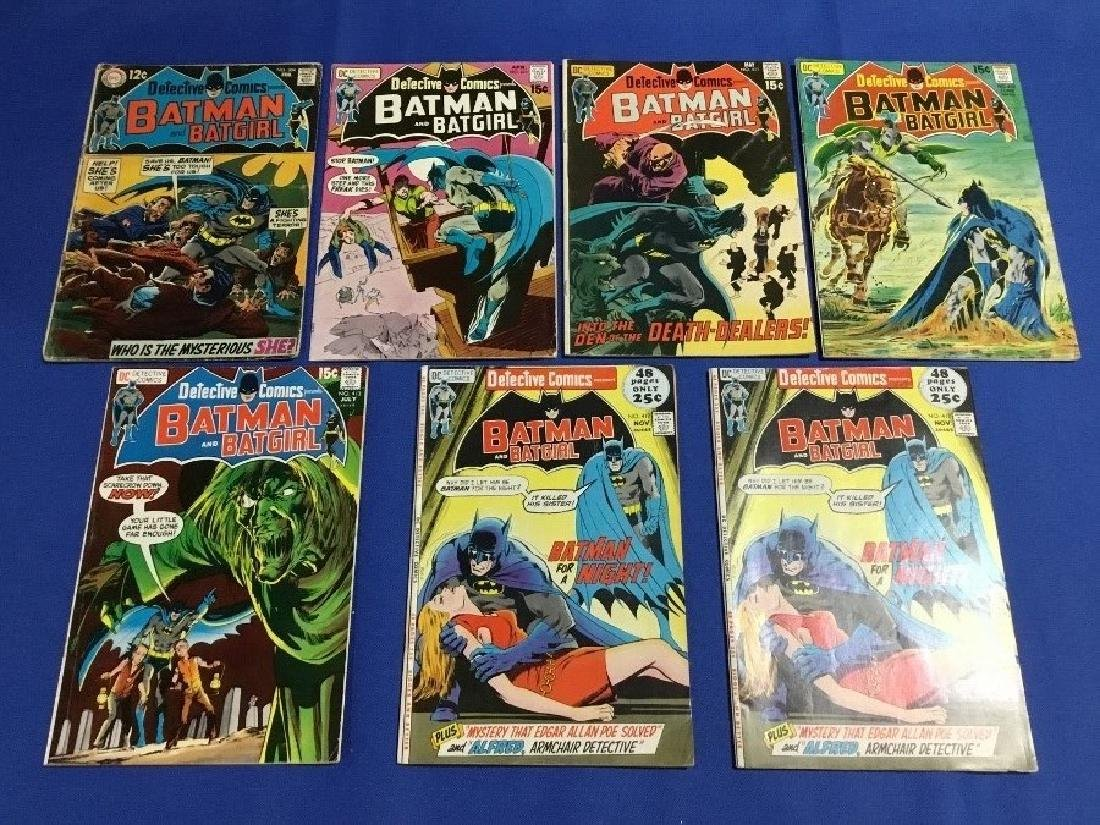 Detective Comics Issues #384,410-413,417x2