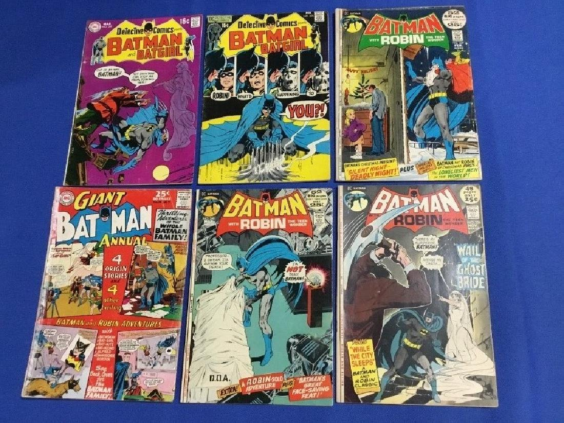 Lot of 6 Vintage Batman Comics