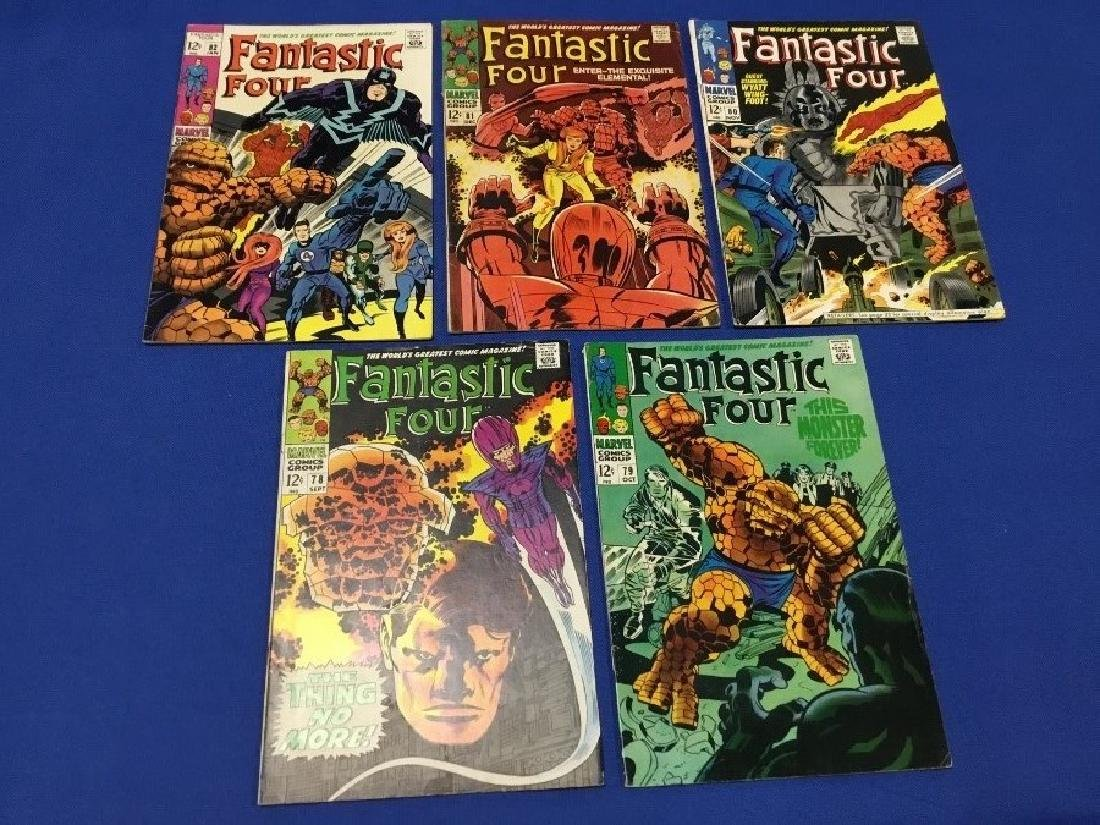 Fantastic Four Issues #78-82