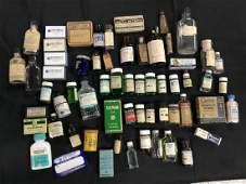 Lot of 61 Pharmaceutical bottles