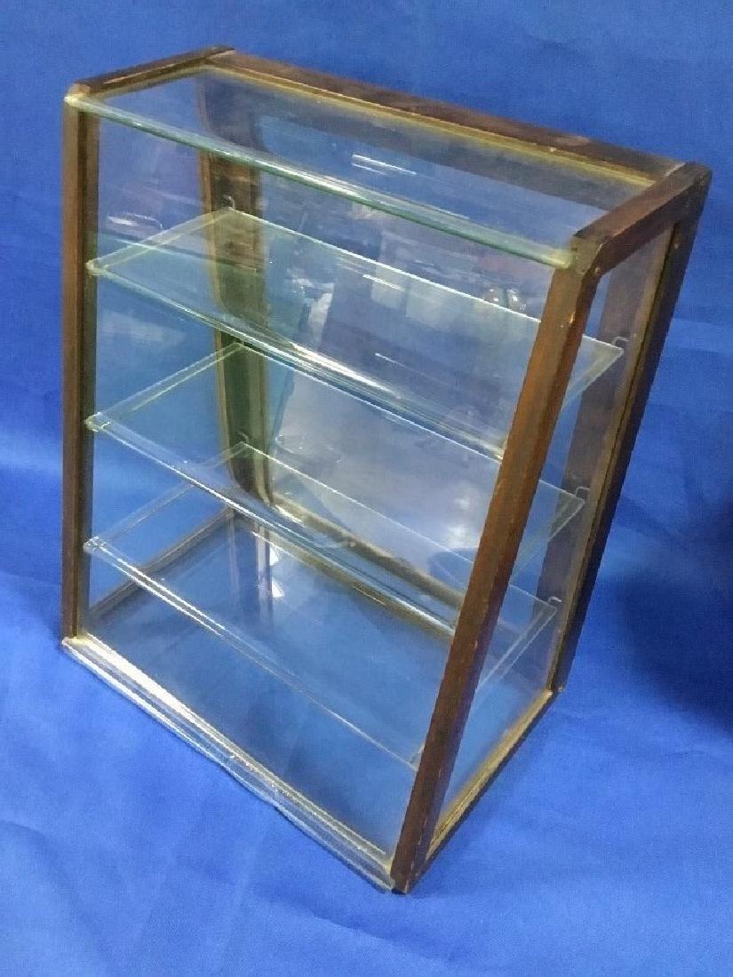 Mahogany Glass Store Display Case