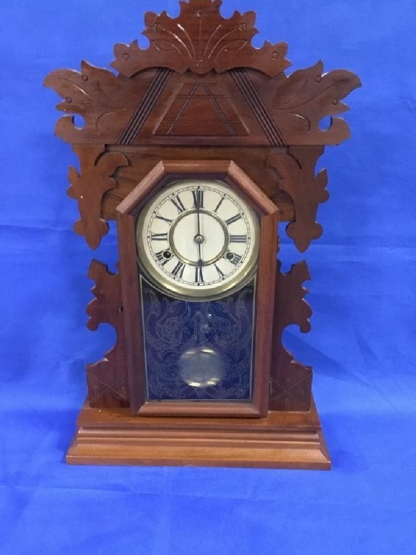 Walnut New Haven Mantle Clock
