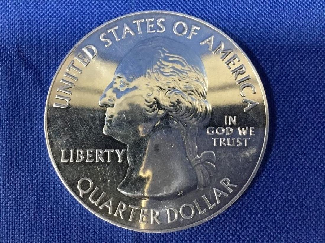 5 Ounce Washington Quarter .999 Fine Silver Bullion