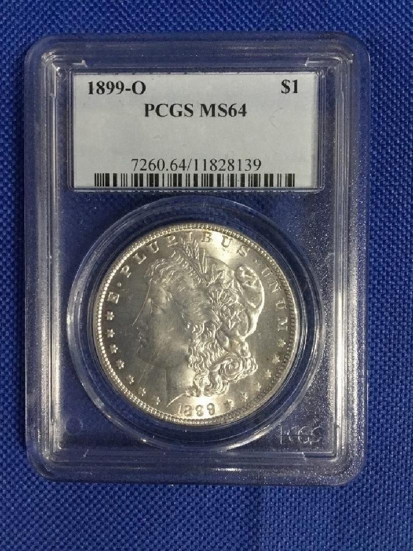 1889 O Morgan Dollar MS64