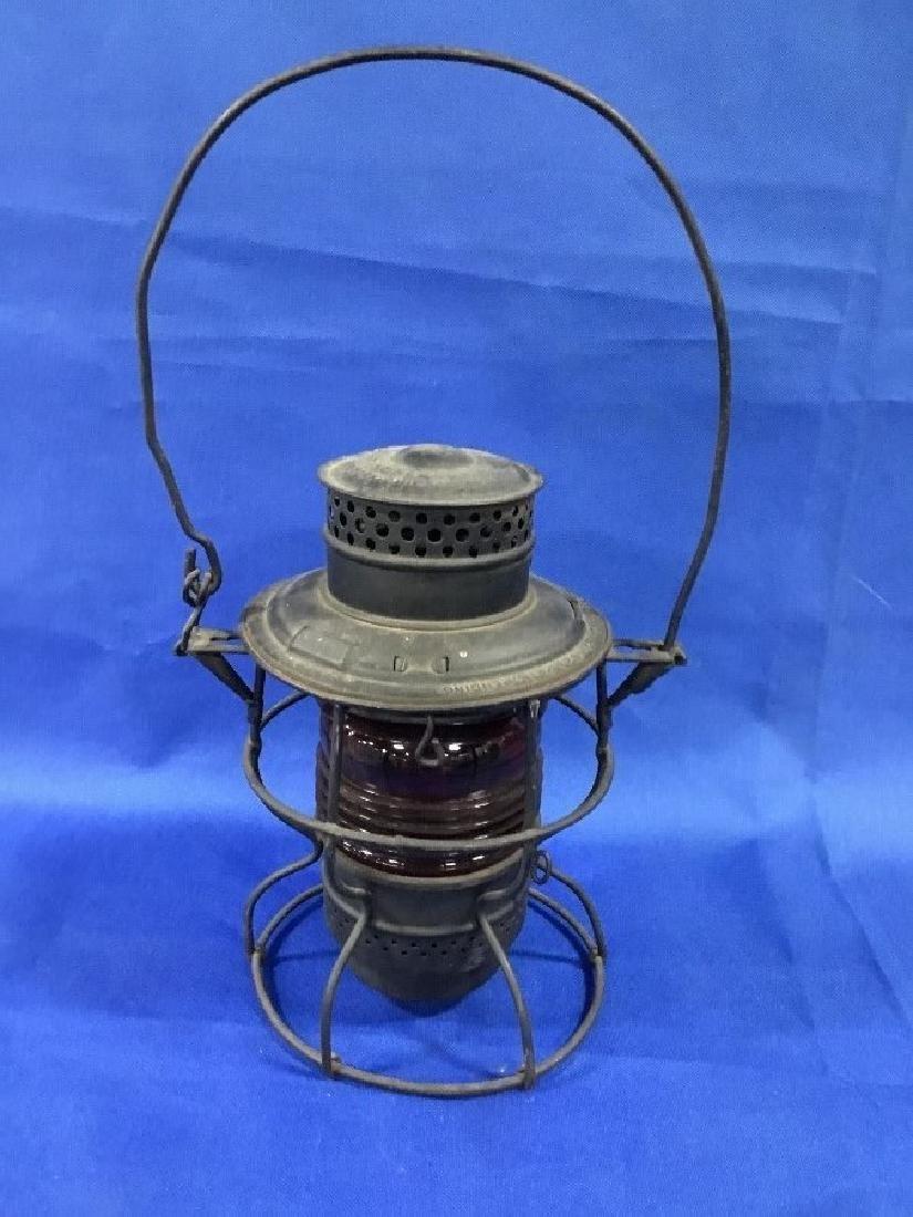 Adlake No. 250 Red Globe R.R. Lantern