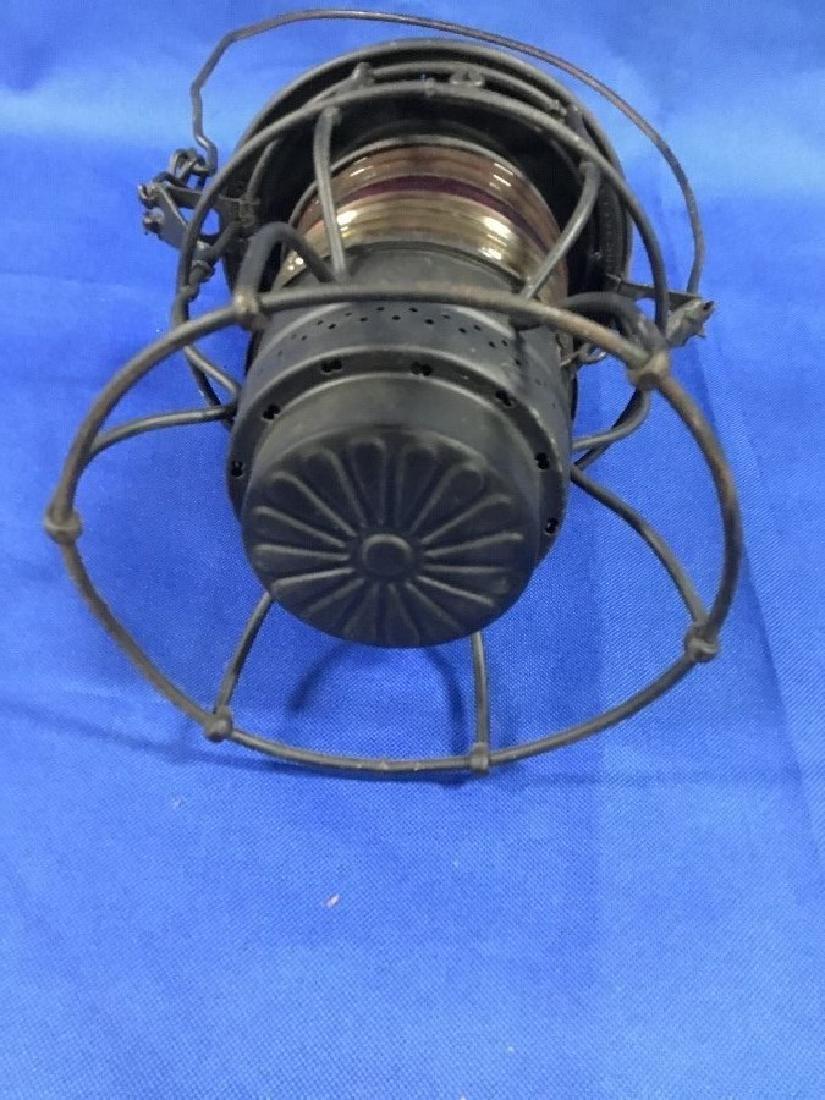 Adlake No. 250 Red Globe R.R. Lantern - 3