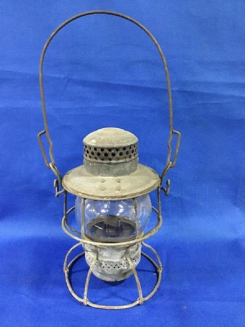 Adlake Pennsylvania R.R. Lantern Clear Globe