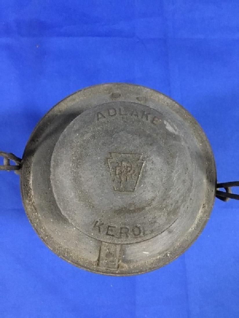 Adlake Pennsylvania R.R. Lantern Clear Globe - 2