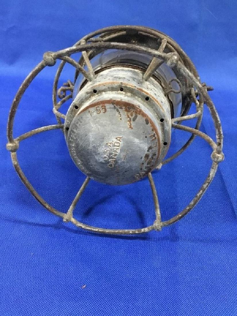 Adlake Pennsylvania R.R. Lantern Clear Globe - 3