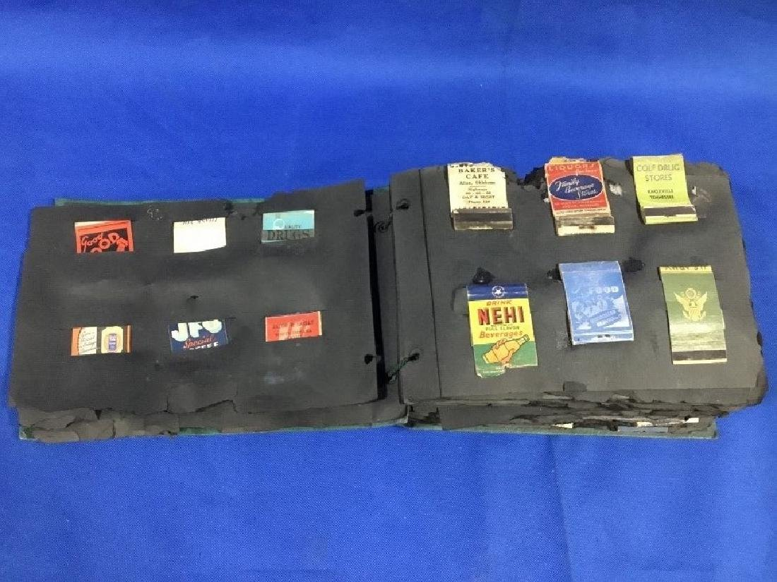 Collection of Early Advertising Match Books