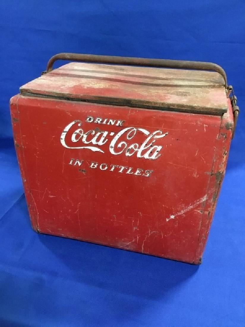 Vintage Drink Coca Cola in Bottles Mfg. By Cavalier
