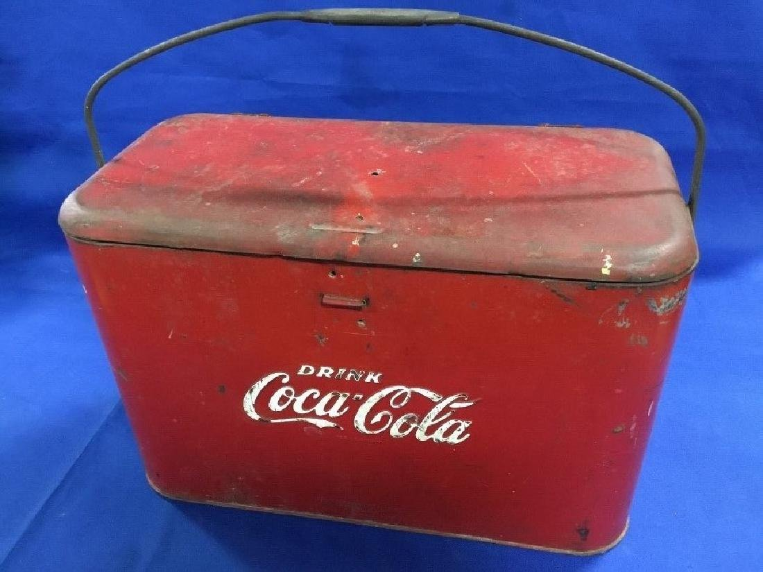 Vintage Coca Cola Airline Cooler