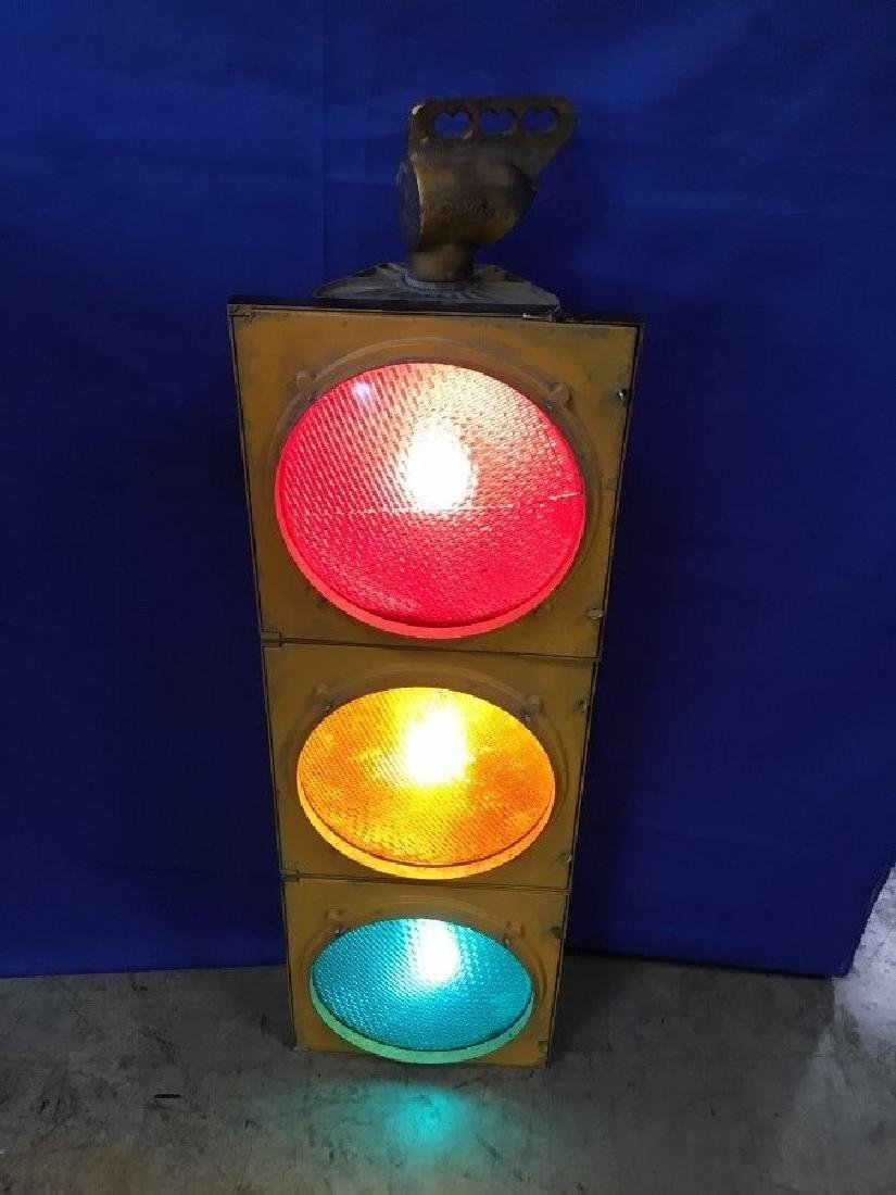 Vintage Street Sign Light Manufactured by Alusig