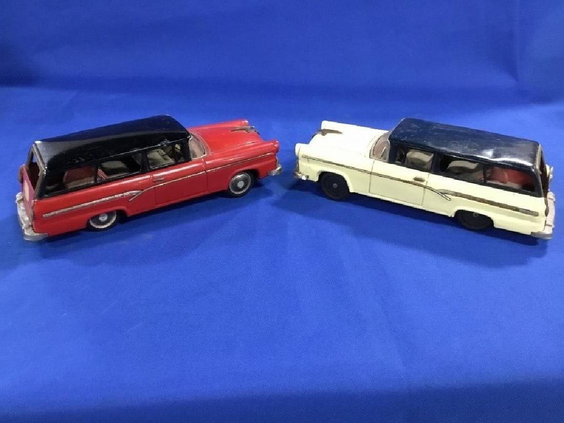 Lot of 2 1956 Ford Station Wagons Made in Japan by