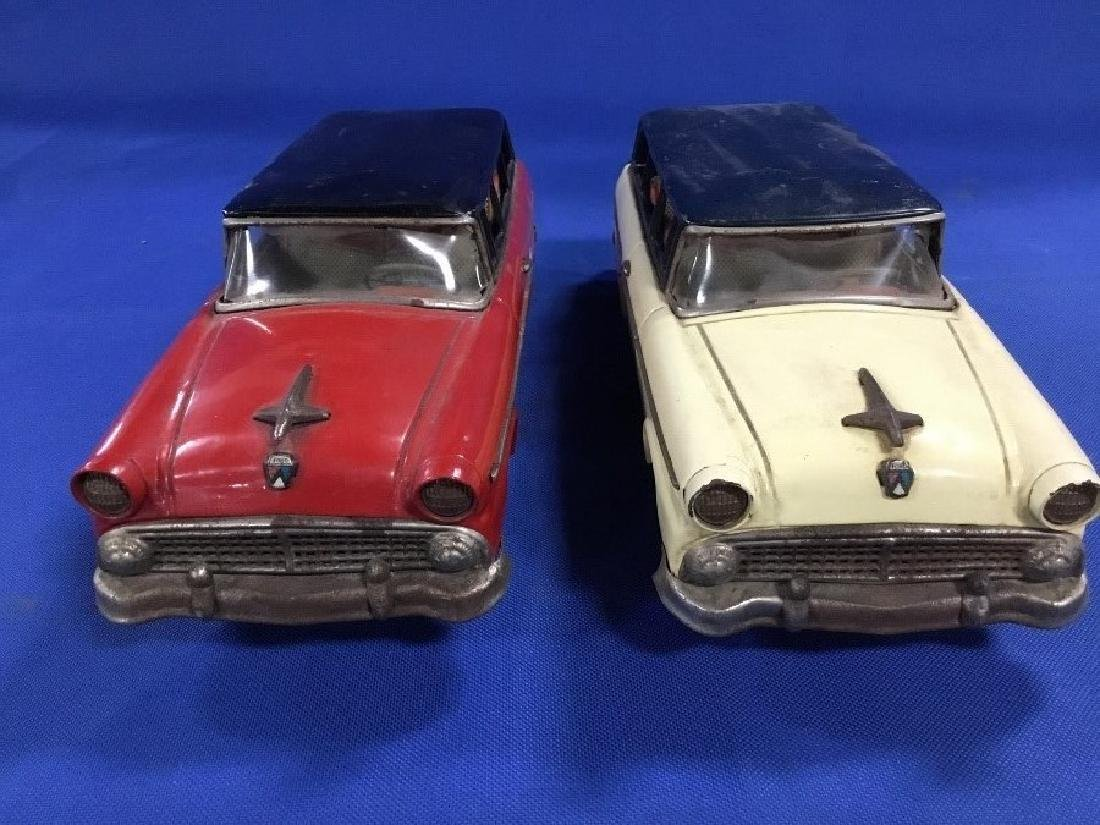 Lot of 2 1956 Ford Station Wagons Made in Japan by - 2
